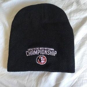 FSU championship beanie